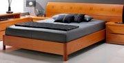 Olive  Modern Platform Bed