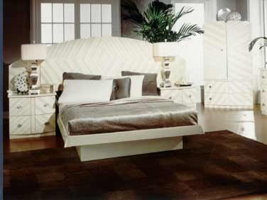 Galina Modern Platform bed