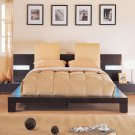 Barbette  Exclusive Platform Bed w/ Headboard Pillows