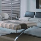 Desiree Spain Chrome Queen/King Size Platform Bed