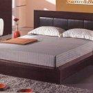 Florence  Contemporary Espresso Finish  Platform Bed