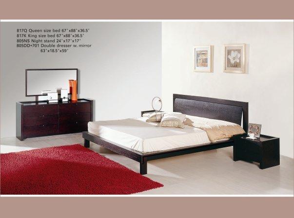 Modern Belladonna Platform Bed