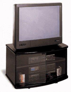 Alexio  Black TV Stand