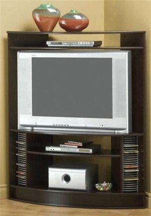 Aloysius Cappuccino Corner Tv Stand