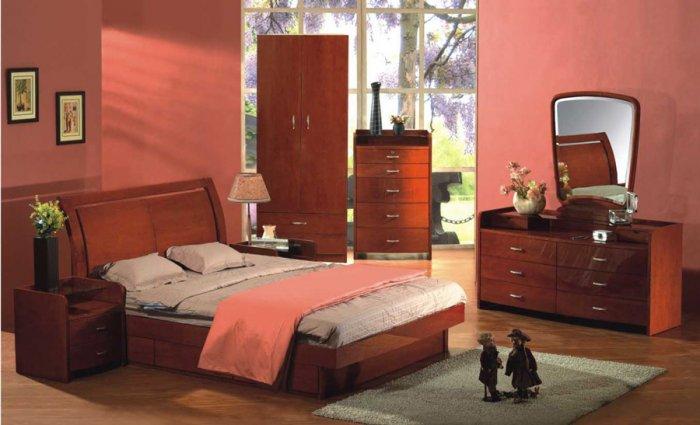 Sanremo Modern Bedroom Set w/ Storage (Full/Queen/King)