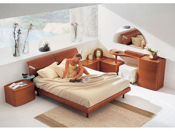 Polaris Italian Made Modern Style Bedroom Set