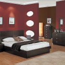 Onix Modern Wenge Bedroom set (Queen/King)