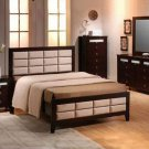 Farmington Stylish Wenge Modern Bedroom Set