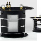 Black Finish Bar Unit