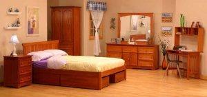 Sherwood Modern Platform Bed  Model
