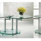 Reno Glass Coffee Table Set