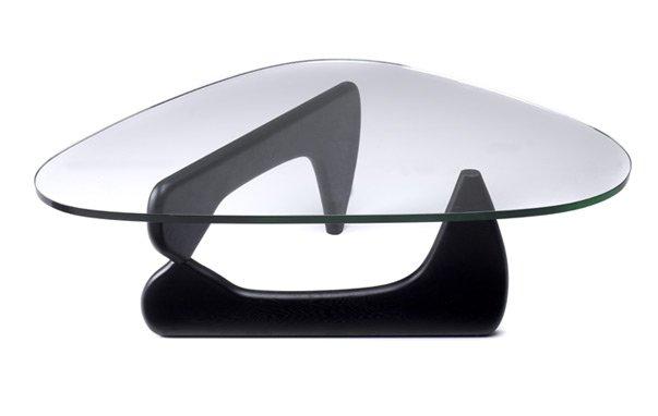 Isamu Noguchi Coffee table 3/4 Glass Replica