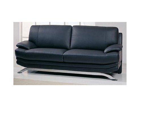 Wilcox contemporary Leather Sofa