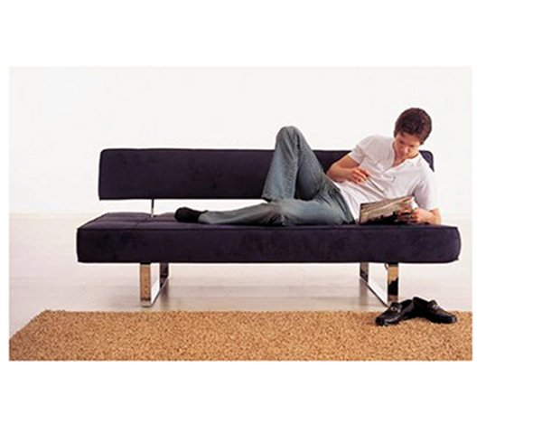 ID-K18  //  Modern Dark Blue Sofa Bed