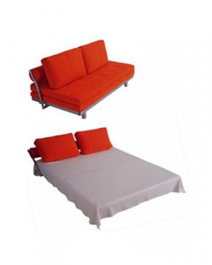 ID-LK05  //  Modern Red/Blue sofa  bed
