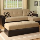 ACM 5775 Lakeland  // Lakeland Sectional Sofa Set with Storage Function