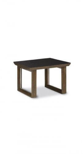 Attractive Warm Brown Color Wood Modern End Table by Gobal