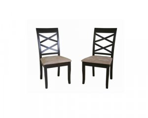 Colombo Dining Chair Wenge Set