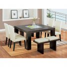 Dining Room Set  ( Leather - Beige )