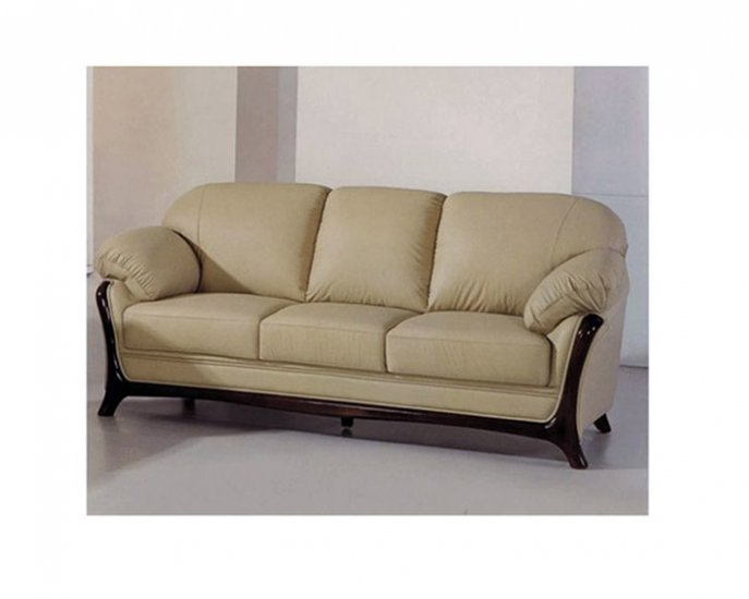 Functional Cappuccino Leather 681 Sofa