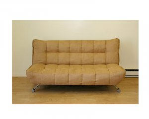 JM Downtown7403-7402-794 // Leatherette camel klick klack sofa bed Downtown(7403-7402-794)