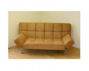 JM-Uptown(203_175) // microfiber beige klick klack Futon sofa bed Uptown (203_175)
