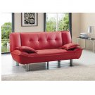 AE_005_r // Tribeca red Sofa Bed 005