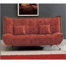 AE-004_m-n // MAROON klick klack sofa bed