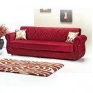 KLM_Balin_red  //  Kilim sofa bed  Balin