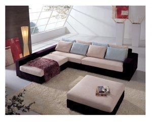Eho-S132B // Extra Padded Sectional Sofa