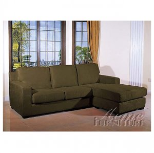 acme 5915  //  Sage Vogue Reversible Chaise Sectional