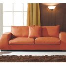 Contemporary Living Room Leather Coated Sofa  //  ESF-681