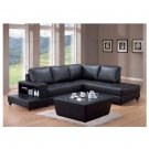 C 500645 // Trenton Modern Collection Leather Sectional
