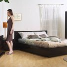 Zurich Bedroom Set 5 Piece Cappuccino Wood Set by Lifestyle