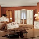Traditional Style Bedroom Set Rossella with elegant Panel Bed