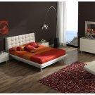 Toledo White Bedroom Set with Platform Bed