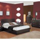 Onix Modern Wenge Bedroom set (Queen/King)