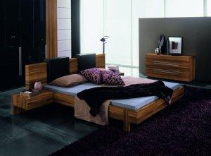 Modern Designer Bedroom Set With Platform Bed From Gap