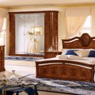 Klassica Contemporary Walnut Bedroom Set
