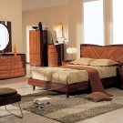 3 Pc 2 Tone Modern Bedroom Set - B-92