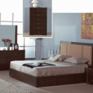 Atlas Wenge Modern Bedroom Set