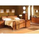 Alexandria Luxury Modern Cherry Bedroom Set