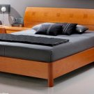 ESF-114  //  Platform Bed w/ Wooden Headboard 114 Composition 3 Benicarlo ESF