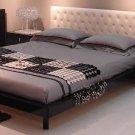 JM-Soho  //  Soho Modern Platform Bed with Leather Headboard