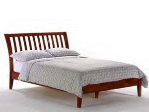 JM-Yrk // Yorkshire wooden Full/ Queen/ King platform bed