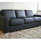 Malia Contemporary Top Grain Leather Sofa       wci