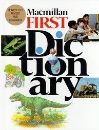 Macmillan First Dictionary Alphabet Rhymes Children Book Home Schooling