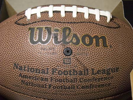 Football Wilson Composite Sports NIB NFL Logo Exercise Health