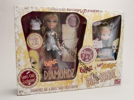 Yasmin Baby Yasmin LIMITED ED Christmas Diamondz Bratz NIB Fashion Dolls