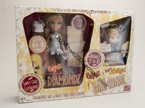 Yasmin Baby Yasmin LIMITED ED Christmas Diamondz Bratz NIB Fashion Dolls